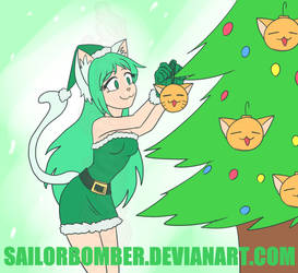 AT Christmas (Late) - Minty by SailorBomber