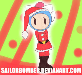 AT Christmas (Late) - Aqua Santa by SailorBomber