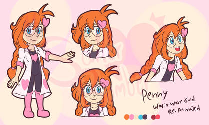 WarioWare Gold Re-Animated - Penny - URL PROCESS by SailorBomber