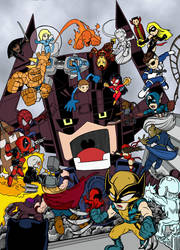 Marvel Ultimate Alliance by Hamtheruleroverall