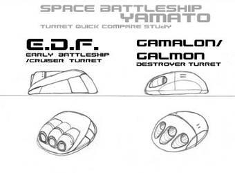EDF vs Galmon Turret Quick by TorinZece