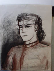 The Dreaded Self Portrait by TorinZece