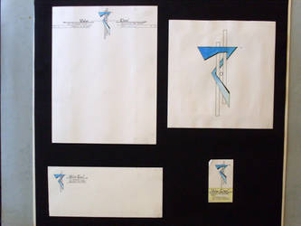 First Letter-head design by TorinZece