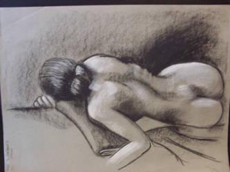 Back figure study 001 by TorinZece