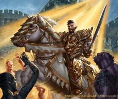 Knight of the Dawn by johnnymorrow