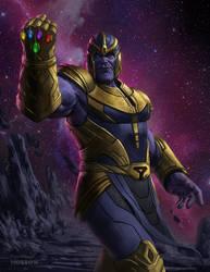 Thanos by johnnymorrow