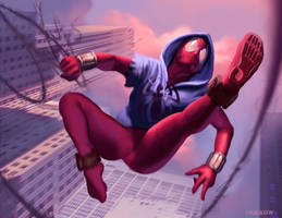Scarlet Spider by johnnymorrow