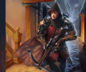 Bounty Hunter by johnnymorrow