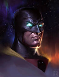 Space Ghost by johnnymorrow