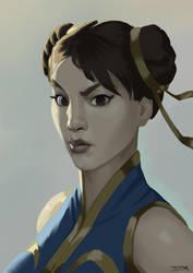 Chun Li by johnnymorrow