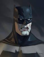 Bat sketch by johnnymorrow