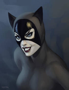 cat sketch by johnnymorrow