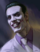 The Joker by johnnymorrow