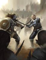 Greater Swordsman by johnnymorrow