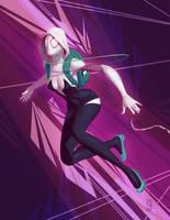 Spider Gwen by johnnymorrow