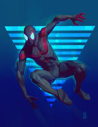 Miles Morales by johnnymorrow