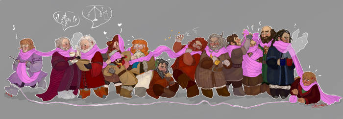 Yule Lineup by Cliopadra
