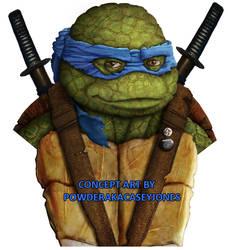 TMNT Leonardo Live Action Concept Art by PowderAkaCaseyJones