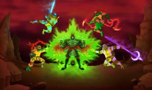 Demon Shredder by PowderAkaCaseyJones