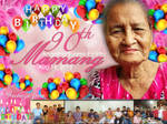 Lola's 90th Birthday Tarpaulin by thearianway