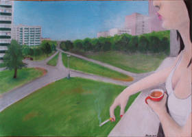 Rauchpause by MILOSLAVvonRANDA