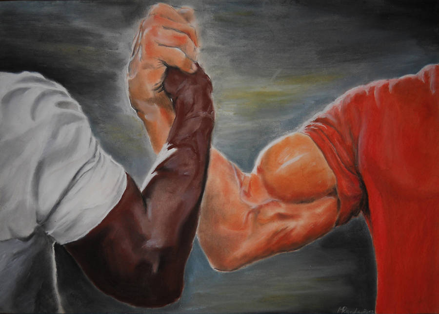 EPIC handshake by Dillon and Dutch by MILOSLAVvonRANDA