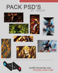 pack psd's by azid92 by azid92