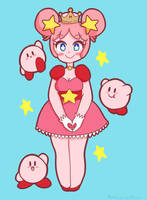 Super Crown Kirby by Bunniccino