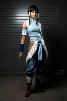 Korra Cosplay Avatar by the-mirror-melts