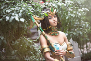 Pharaoh Nidalee III by the-mirror-melts