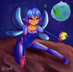Space Faerie Mira by Ini-Inayah