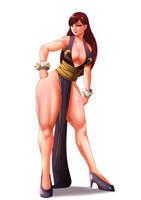 FanArt - Chun Li (Alternate costume) by SexyDarkBR
