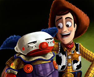 Toy Story: Luckey Buddies by g0N3Morganna