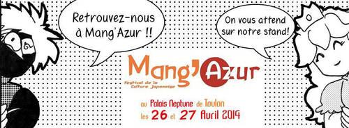 RDV Mang'Azur 2014 by yonkomacosplay