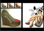 Illustration shoes3 by Carla-lima