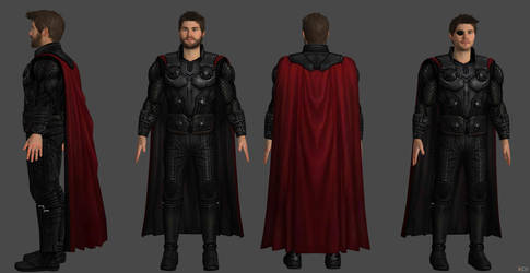 Thor (AIW) Chris Hemsworth Preview by SSingh511