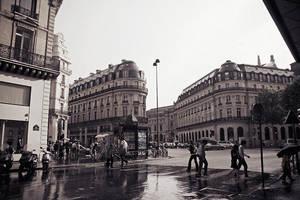 rain in Paris 3 by Lucem