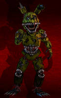 Nightmare Springtrap by YourOgrelord