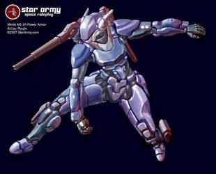 Mindy M2-2A Power Armor by RyujinDX