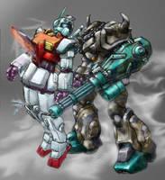 GMII meets B3 Gouf --color by RyujinDX