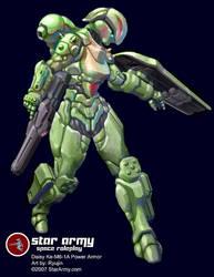 Daisy Power Armor by RyujinDX