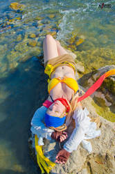 Rikku - Final Fantasy X-2 - [Sun x Water] by GeniMonster