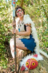 San - Princess Mononoke - [Await] by GeniMonster