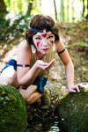 San - Princess Mononoke - [Water] by GeniMonster