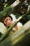 San - Princess Mononoke - [Hiding] by GeniMonster