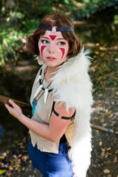 San - Princess Mononoke - [I heard something] by GeniMonster