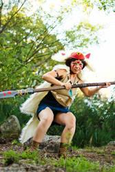 San - Princess Mononoke - [Hunting] by GeniMonster