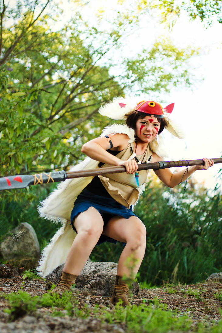 San - Princess Mononoke - [Hunting] by GeniMonster