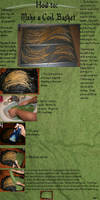 coil basket weaving tutorial 1 by ipneto