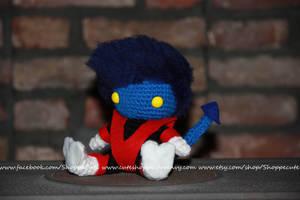 X-Men Nightcrawler Amigurumi by thelegendofSwink